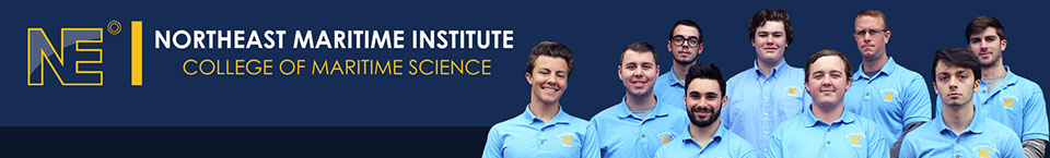 Northeast Maritime Institute College of Maritime Science Header with Student Government