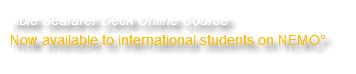 Able Seafarer Deck Online Course Now available to international students on NEMO°