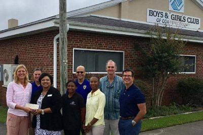 NMI foundation, donation to boys and girls club, NMI foundation donation