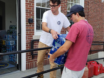 Northeast Maritime Institute | Hurricane Relief