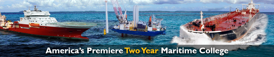 Collage of Various Maritime Vessels | Americas Premiere Two Year Maritime College