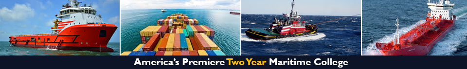America's Premiere Two Year Maritime College | Collage of Ships | Maritime Vessels