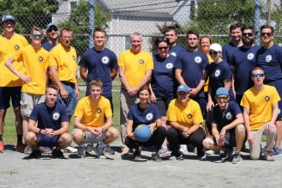 Fall Kickball, Northeast Maritime Institute, College of Maritime Science, student event