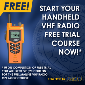 Advertisment NEMO | HALO Handheld VHF Simulator Click here to take the free trial course now!
