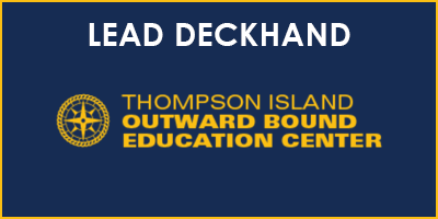 Lead Deckhand Thompson Island