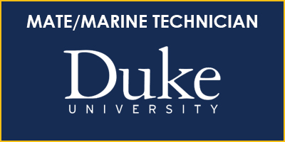Mate/Marine Technician Duke University