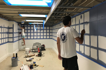 painting brigantine hall summer 2019