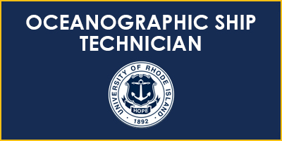 Oceanographic Ship Technician