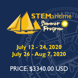 STEMaritime Summer Program - Dates and Price
