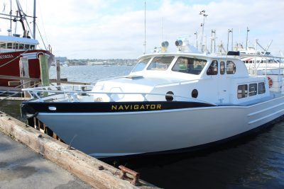Navigator, training vessel, hands-on training, experiential learning, maritime training