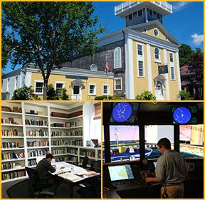 get to know our fairhaven campus, fairhaven campus, college of maritime science, northeast maritime institute