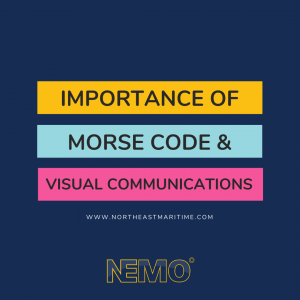 Importance of Morse Code and Visual Communications in the Maritime Industry