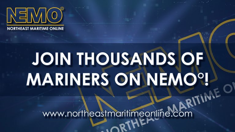 Join thousands of mariners on nemo, nemo add, northeast maritime online